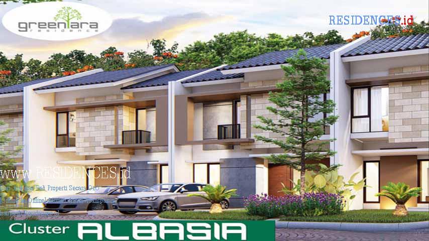 Cluster Albasia Green Ara Residence Kota Harapan Indah Bekasi 001