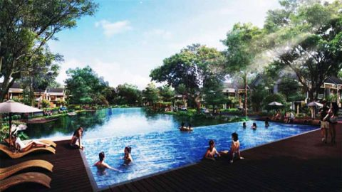 cluster-olive-residence-orchard-summarecon-bekasi-pool